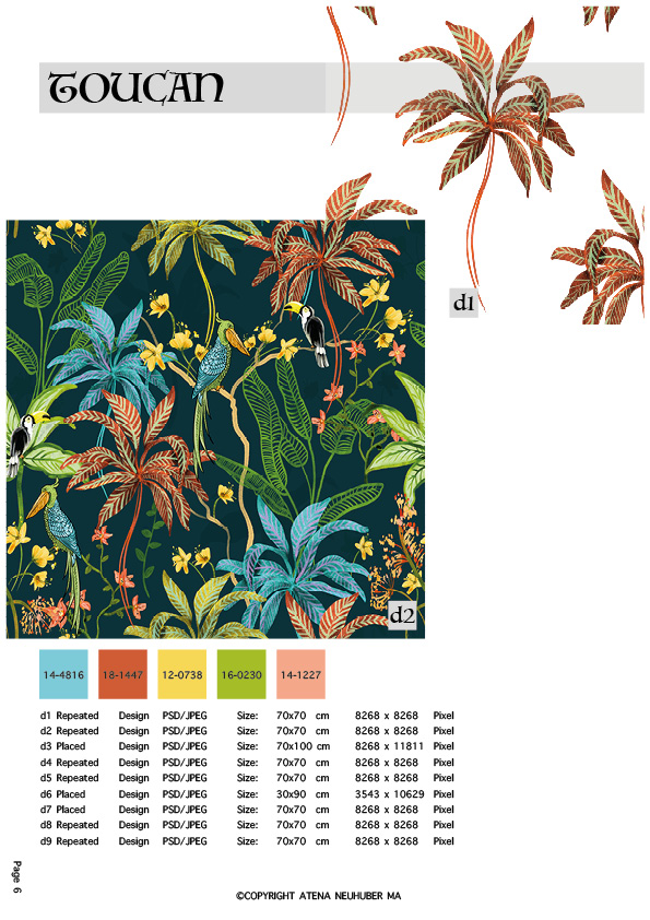 Spring Summer Pattern Book Vol.1