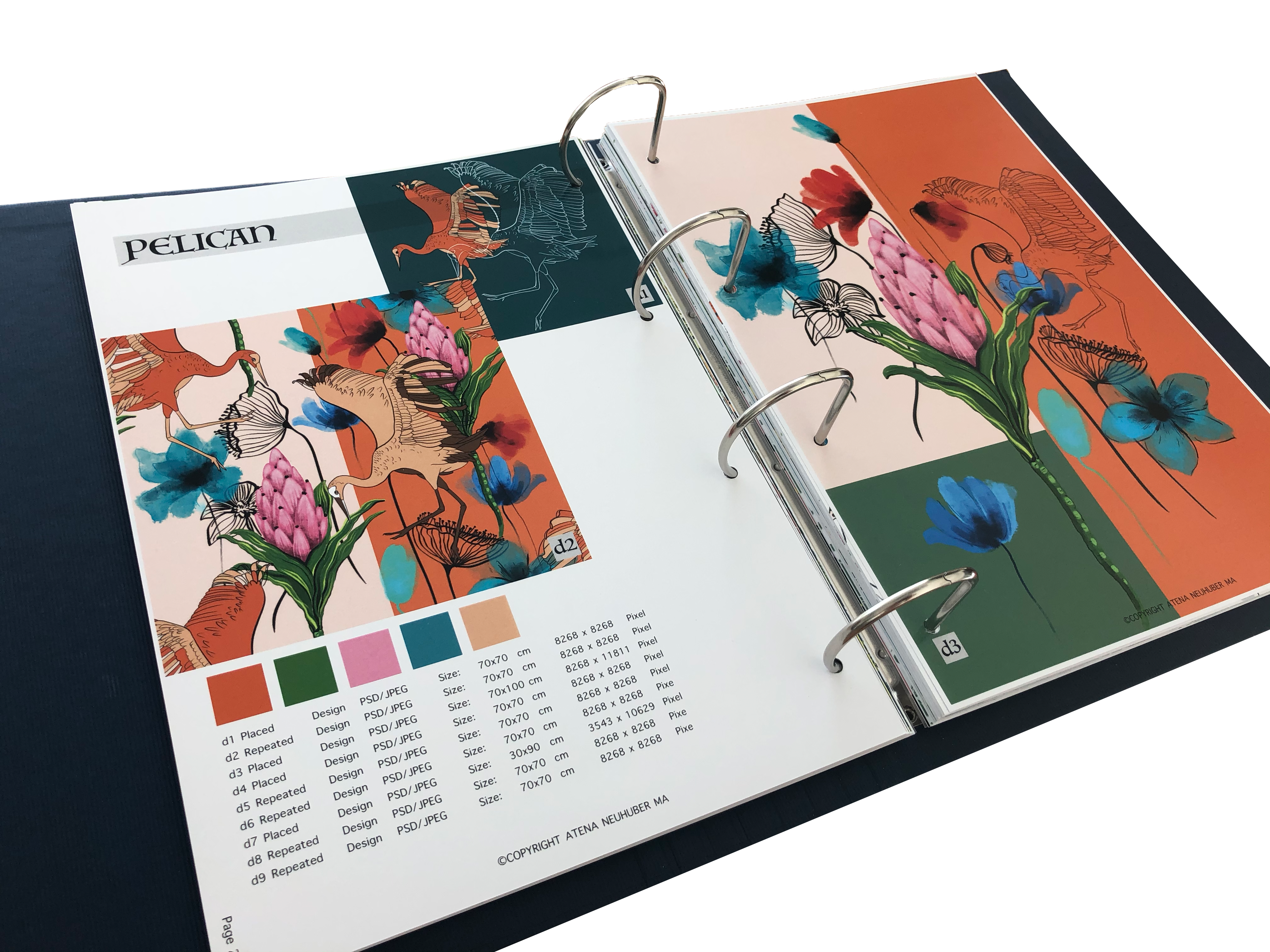 Spring Summer Pattern Book Floral & Tropical