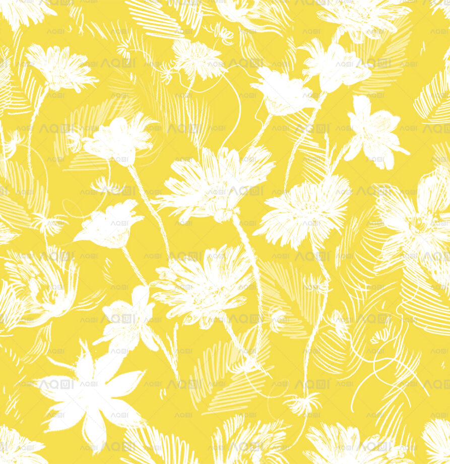 """Seamless Repeated Design """"Floral Party d2"""" Li. Classic"""